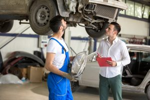Auto accidents in company vehicles: Who is responsible?