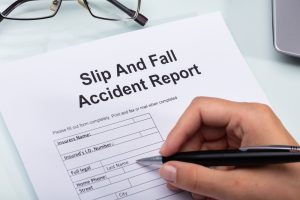 Burden of Proof for a Slip and Fall Case in NJ